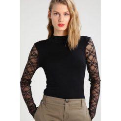 Bluzki asymetryczne: Kaffe TONIKA  Bluzka z długim rękawem black deep