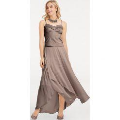Odzież damska: Spódnica w kolorze szarobrązowym