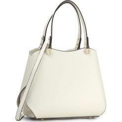 Torebka CREOLE - K10288  Krem/Beż. Brązowe torebki klasyczne damskie Creole, ze skóry. W wyprzedaży za 269,00 zł.