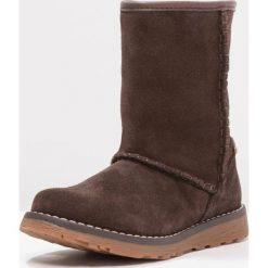 Superfit EMMA Śniegowce ciok. Brązowe buty zimowe damskie marki Superfit, z materiału. W wyprzedaży za 215,40 zł.