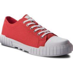 Trampki CALVIN KLEIN JEANS - Beato S1748 Tomato. Czerwone trampki męskie marki Calvin Klein Jeans, z gumy. Za 519,00 zł.