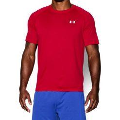 T-shirty męskie: Under Armour Koszulka męska Tech Short Sleeve T-Shirt Red r. S (1228539600)