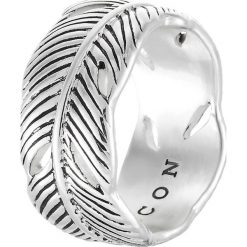 Sygnety męskie: Icon Brand PLUME Pierścionek silvercoloured