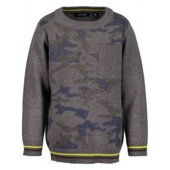 Odzież chłopięca: Blue Seven Sweter Chłopięcy, 98, Szary