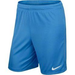 Spodenki i szorty męskie: Nike Spodenki sportowe męskie Park knit short niebieskie r. L (19641)