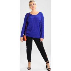 New Look Curves COSTA RICA  Jeans Skinny Fit black. Czarne rurki damskie New Look Curves. Za 189,00 zł.