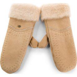 Rękawiczki Damskie EMU AUSTRALIA - Otways Mittens Chestnut. Brązowe rękawiczki damskie EMU Australia, na zimę, z materiału. Za 429,00 zł.
