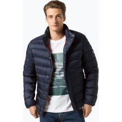 Tommy Jeans - Męska kurtka puchowa, niebieski. Niebieskie kurtki męskie jeansowe marki Reserved, l. Za 849,95 zł.