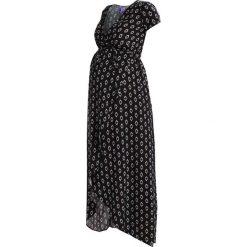 Długie sukienki: Seraphine DAISY Długa sukienka black/white