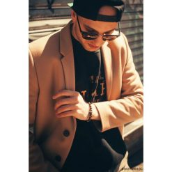 Biżuteria i zegarki: Bransoletka męska Black Tiger Eye