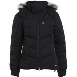 Odzież damska: Salomon ICETOWN  Kurtka snowboardowa black heather