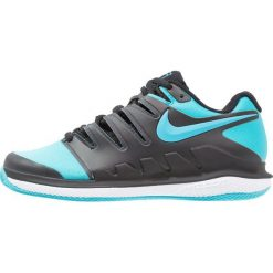 Nike Performance AIR ZOOM VAPOR X CLAY Obuwie do tenisa Outdoor black/gamma blue/white. Czarne buty do tenisu damskie Nike Performance, z gumy. Za 399,00 zł.