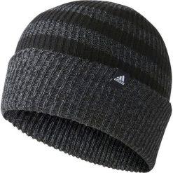 Czapka męska 3S Woolie czarna (BR9921). Czarne czapki zimowe męskie Adidas. Za 61,35 zł.