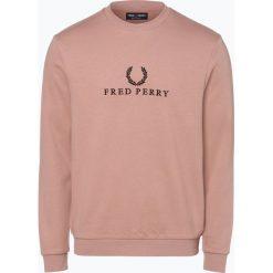 Fred Perry - Męska bluza nierozpinana, różowy. Czerwone bluzy męskie Fred Perry, m, z haftami. Za 499,95 zł.