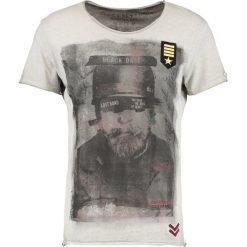 T-shirty męskie z nadrukiem: Key Largo CHAPTER Tshirt z nadrukiem silber