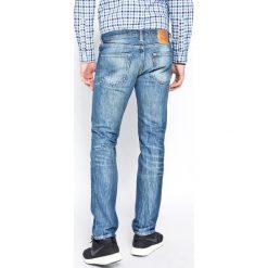 Levi's - Jeansy 511 Slim Fit. Brązowe jeansy męskie relaxed fit marki Levi's®. W wyprzedaży za 299,90 zł.