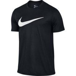 Nike Koszulka męska Legend Mesh Swoosh Tee czarna r. XL (821833 010). Czarne koszulki sportowe męskie marki Nike, m, z meshu. Za 96,67 zł.