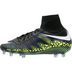 Buty sportowe chłopięce: Nike Performance HYPERVENOM PHANTOM II FG Korki Lanki black/white/volt/paramount blue