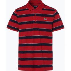Lacoste - Męska koszulka polo, czerwony. Szare koszulki polo marki Lacoste, z bawełny. Za 379,95 zł.
