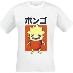 Ni No Kuni 2 - Lofty Japanese T-Shirt biały. Białe t-shirty męskie z nadrukiem Ni No Kuni, l, z okrągłym kołnierzem. Za 74,90 zł.