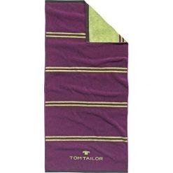 Kąpielówki męskie: Ręcznik w kolorze fioletowo-zielonym