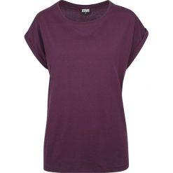 Urban Classics Ladies Extended Shoulder Tee Koszulka damska jasnofioletowy (Lilac). Czarne bluzki na imprezę marki Molly.pl, l, z dresówki, z kopertowym dekoltem, z krótkim rękawem. Za 42,90 zł.