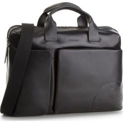 Torba na laptopa STRELLSON - Jones 4010002358 Black 900. Czarne torby na laptopa Strellson, ze skóry. W wyprzedaży za 699,00 zł.