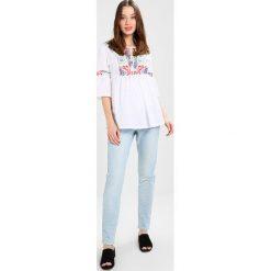 Bluzki asymetryczne: Slacks & Co. ESTELLE Bluzka white