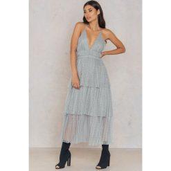 Sukienki hiszpanki: True Decadence Koronkowa sukienka – Grey
