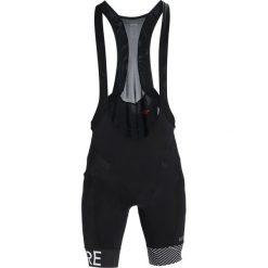 Gore Wear OPTILINE Krótkie spodenki sportowe black/white. Białe bermudy męskie Gore Wear, z elastanu, sportowe. Za 419,00 zł.