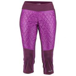 Marmot Spodnie Damskie Wm's Toaster Capri Dark Purple/Grape Xs. Fioletowe bryczesy damskie Marmot, l, do biegania. Za 349,00 zł.