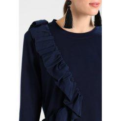 Bluzy damskie: Karen by Simonsen SASH  Bluza dark blue