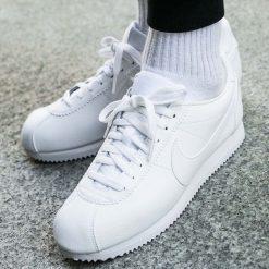 Buty Nike Classic Cortez Leather (749571-111). Szare halówki męskie Nike, z materiału. Za 279,99 zł.