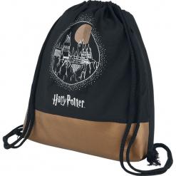 Harry Potter Hogwarts Castle Torba treningowa czarny/pomarańczowy. Brązowe torebki klasyczne damskie Harry Potter, z nadrukiem, z nadrukiem. Za 62,90 zł.