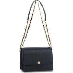 Torebka TORY BURCH - Robinson Convertible Shoulder Bag 46333 Royal Navy/Black. Niebieskie torebki klasyczne damskie Tory Burch, ze skóry ekologicznej. W wyprzedaży za 869,00 zł.