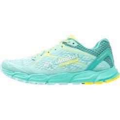 Columbia CALDORADO II  Obuwie do biegania Szlak aquarium/zour. Zielone buty do biegania damskie marki Columbia, z materiału. W wyprzedaży za 396,75 zł.