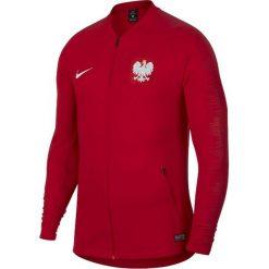 Bejsbolówki męskie: Nike Bluza męska Reprezentacji Polski Anthem czerwona r. M (893600-611)