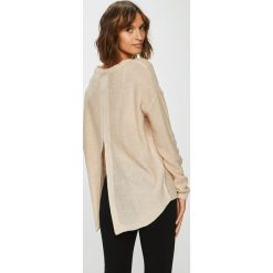 Answear - Sweter. Szare swetry oversize damskie ANSWEAR, l, z dzianiny. W wyprzedaży za 79,90 zł.