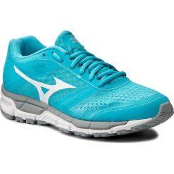 Buty MIZUNO - Synchro Mx (W) J1GF161901 Niebieski. Niebieskie buty do biegania damskie marki Mizuno, z materiału. W wyprzedaży za 249,00 zł.