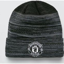 New Era - Czapka Manchester United. Czarne czapki zimowe męskie New Era. W wyprzedaży za 119,90 zł.