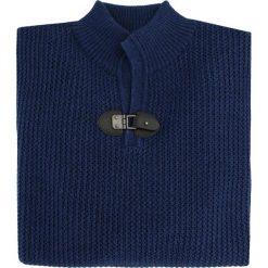 Sweter UBERTO 15-101CS. Brązowe swetry klasyczne męskie Giacomo Conti, na jesień, m, z aplikacjami, z wełny, ze stójką. Za 349,00 zł.