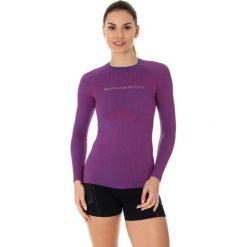 T-shirty damskie: Brubeck Koszulka damska 3D Run Pro purpurowa r. S (LS13140)