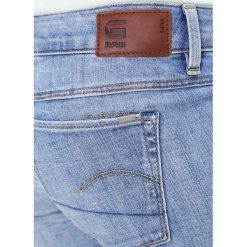 GStar 3301 LOW SKINNY  Jeans Skinny Fit aiden stretch denim. Niebieskie jeansy damskie marki G-Star. W wyprzedaży za 399,20 zł.