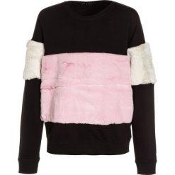 Sisley Bluza multicolor. Czarne bluzy dziewczęce Sisley, z bawełny. W wyprzedaży za 135,20 zł.