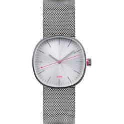 Zegarki damskie: Zegarek damski Tic15 stalowa bransoleta srebrna matowa tarcza