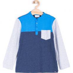 Koszulka. Szare t-shirty chłopięce z długim rękawem ATHLETICS, z bawełny. Za 29,90 zł.