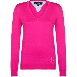 """Swetry klasyczne damskie: Sweter """"Shot"""" w kolorze różowym"""