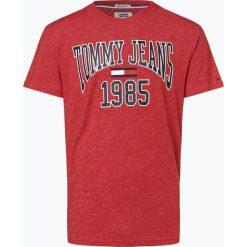 Tommy Jeans - T-shirt męski, czerwony. Czerwone t-shirty męskie Tommy Jeans, m, z napisami, z jeansu. Za 139,95 zł.