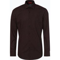 HUGO - Koszula męska – Kenno, czerwony. Niebieskie koszule męskie na spinki marki HUGO, m, z bawełny. Za 399,95 zł.