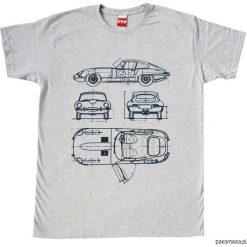 Koszulka JAGUAR E - TYPE GREY. Czarne bralety marki Pakamera, m, z kapturem. Za 77,00 zł.